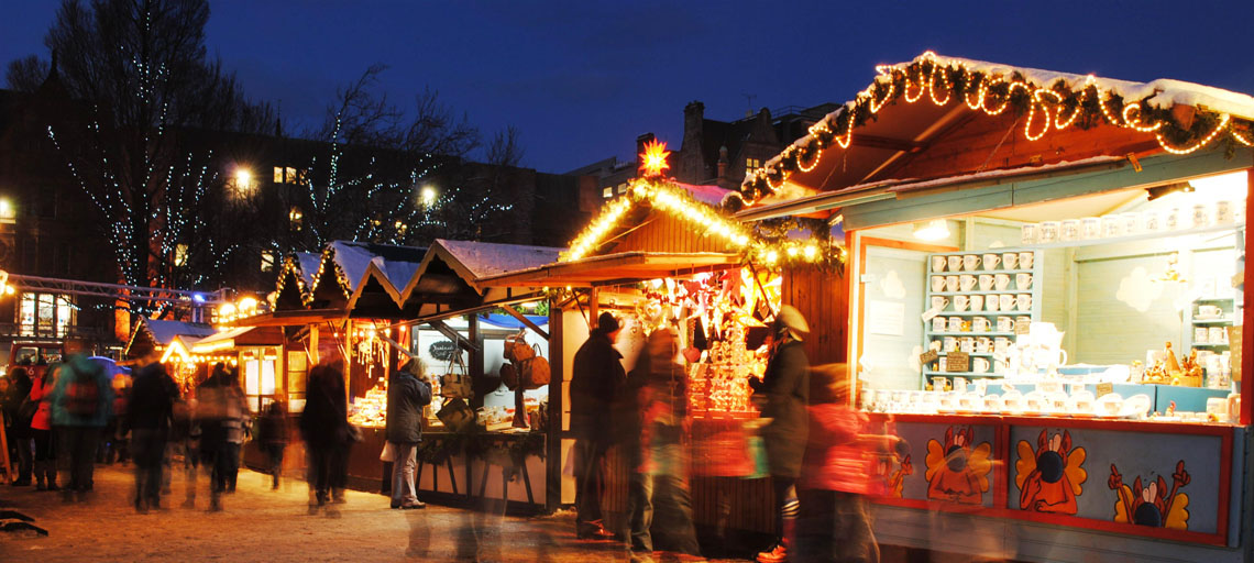 Edinburgh's Magical Christmas Market Masthead Image