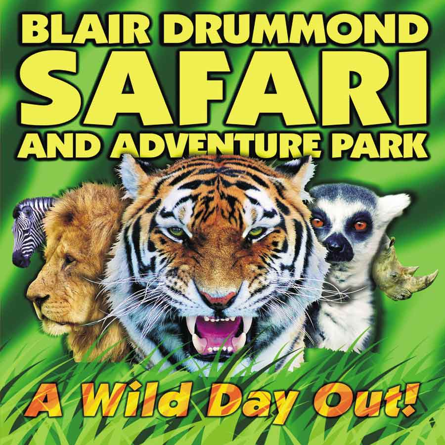 Go Wild With Your Child At Blair Drummond Safari Park - Book Now