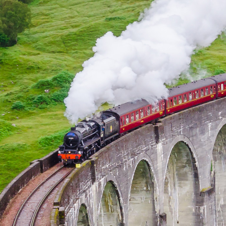 Nostalgic Jacobite Harry Potter Steam Train 2019 - Book Now
