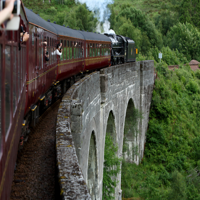 Nostalgic Jacobite Steam Train 2021 - Book Now