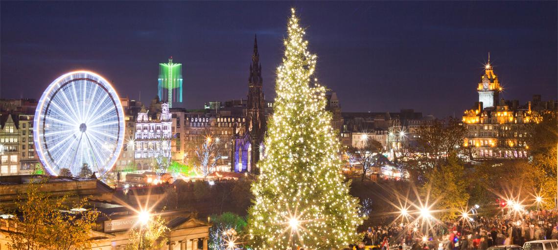 Edinburgh Christmas Markets Masthead Image