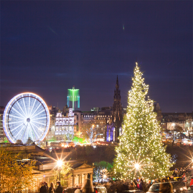 Edinburgh Christmas Markets Masthead Image