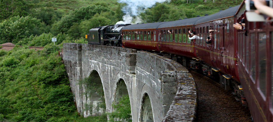 Join the famous Jacobite steam train before cruising on the Knoydart Peninsular Masthead Image