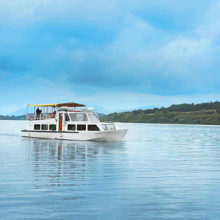 Loch Lomond With Optional Boat Cruise, From £15ppBook Now