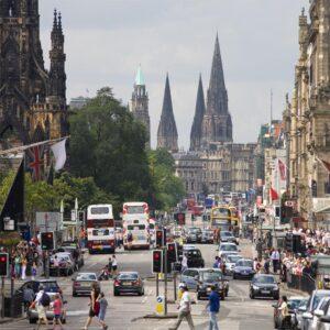 edinburgh shopping city trip thorne experience
