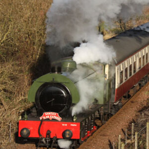 santa steam train thorne experience