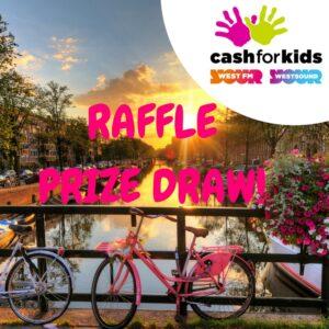Cash For Kids Amsterdam Mini Cruise £1 Raffle!1