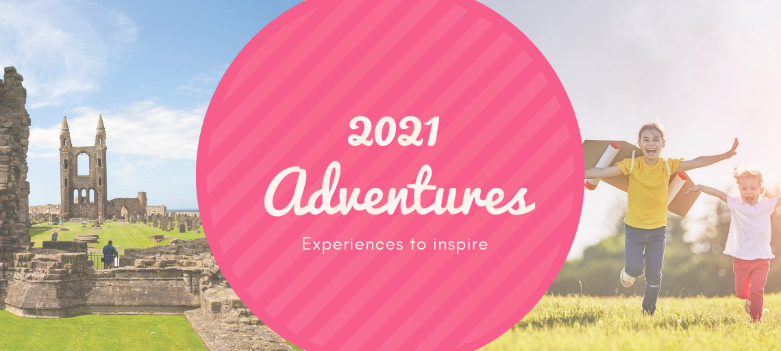 Plan your 2021 adventure with our newly added Exciting Experiences Masthead Image
