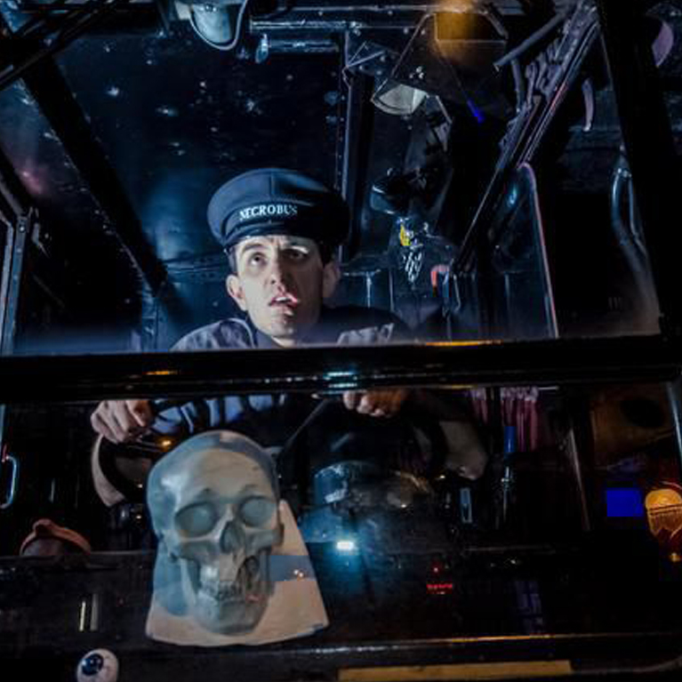 Edinburgh Ghost Tour by Vintage Bus - Book Now