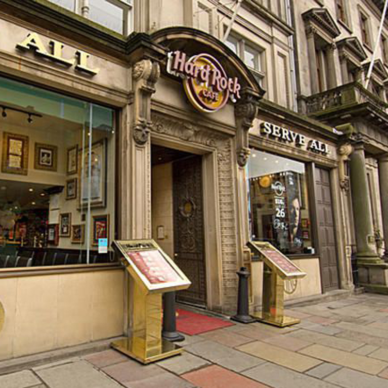 Hard Rock Cafe Edinburgh - Book Now