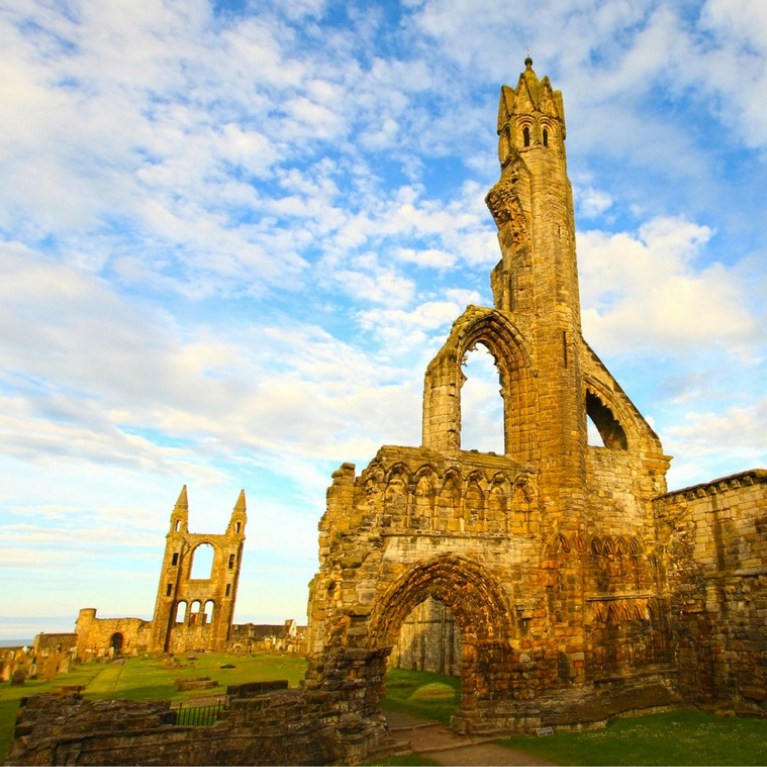 St. Andrews and Anstruthers, From £20pp Masthead Image