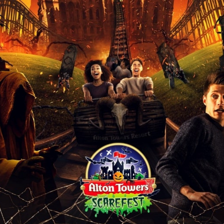 Alton Towers, Halloween Scarefest - Book Now