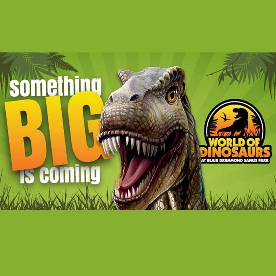 Go Dinosaur Daft At Blair Drummond Safari Park! Masthead Image