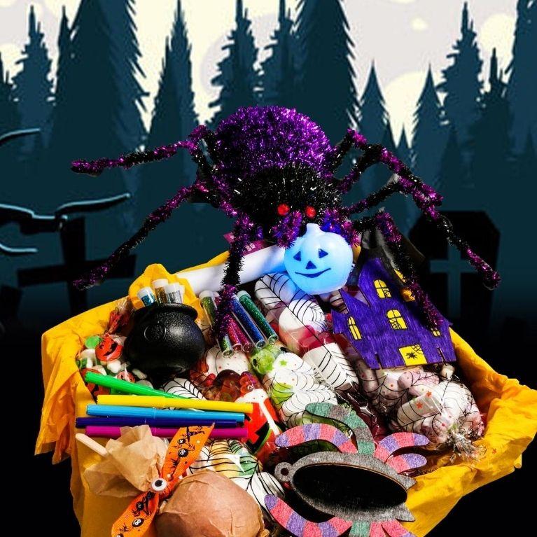 Spooktacular Halloween Hamper Delivered By Shrek & Fiona! - More Info