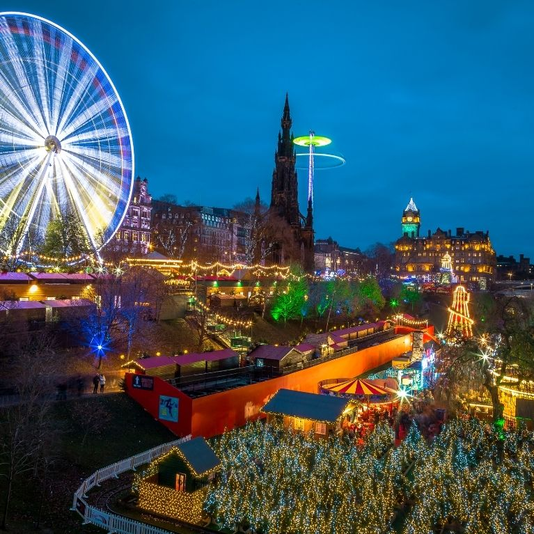 Christmas Shopping In Edinburgh - Book Now