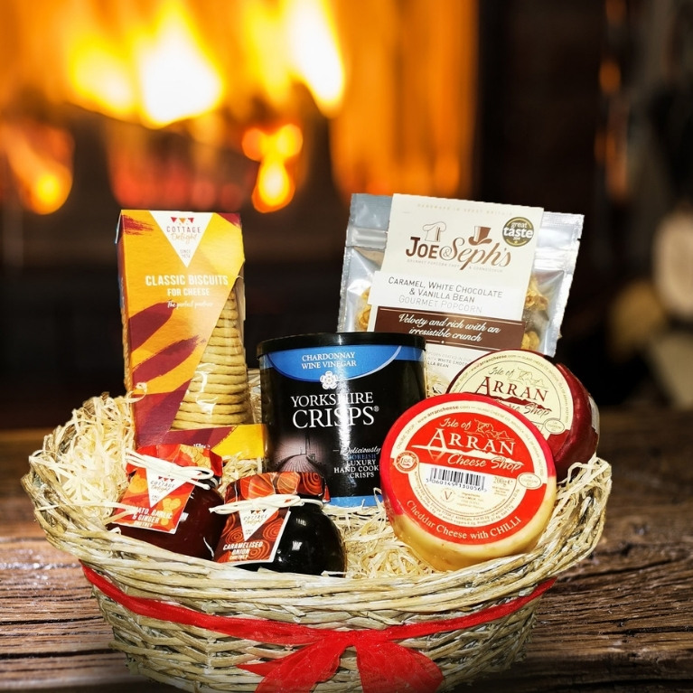 Simply Delicious Cheese Hamper – Delivered Direct To Your Door - More Info