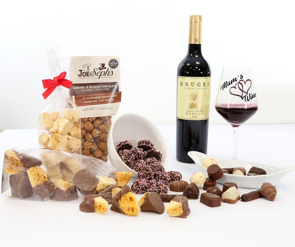 Chocolate & Wine Gift Hamper