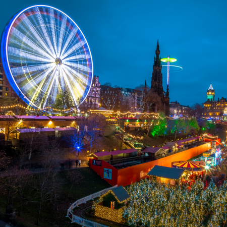 Edinburgh Christmas Markets 2021 Thorne Travel Experience (3)